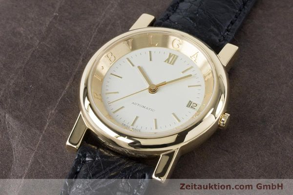 Used luxury watch Bvlgari Anfiteatro 18 ct gold automatic Kal. 220MBBG Ref. AT35GLD  | 160860 01