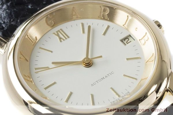 Used luxury watch Bvlgari Anfiteatro 18 ct gold automatic Kal. 220MBBG Ref. AT35GLD  | 160860 02