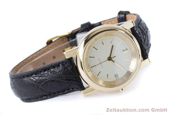 Used luxury watch Bvlgari Anfiteatro 18 ct gold automatic Kal. 220MBBG Ref. AT35GLD  | 160860 03