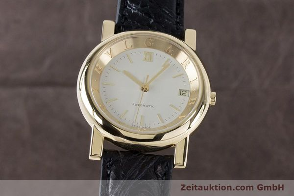Used luxury watch Bvlgari Anfiteatro 18 ct gold automatic Kal. 220MBBG Ref. AT35GLD  | 160860 04