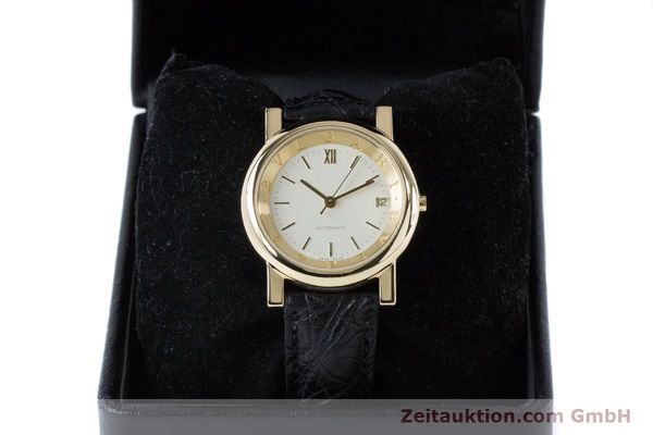 Used luxury watch Bvlgari Anfiteatro 18 ct gold automatic Kal. 220MBBG Ref. AT35GLD  | 160860 07