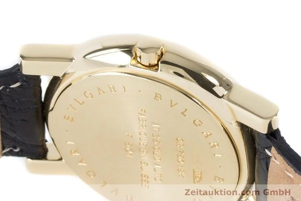 Used luxury watch Bvlgari Anfiteatro 18 ct gold automatic Kal. 220MBBG Ref. AT35GLD  | 160860 08