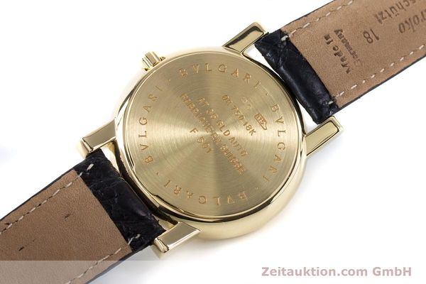 Used luxury watch Bvlgari Anfiteatro 18 ct gold automatic Kal. 220MBBG Ref. AT35GLD  | 160860 10