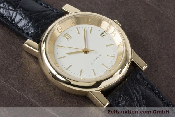 Used luxury watch Bvlgari Anfiteatro 18 ct gold automatic Kal. 220MBBG Ref. AT35GLD  | 160860 14