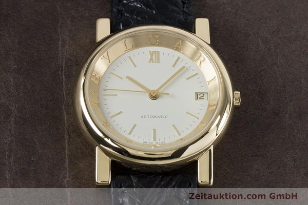 Used luxury watch Bvlgari Anfiteatro 18 ct gold automatic Kal. 220MBBG Ref. AT35GLD  | 160860 15