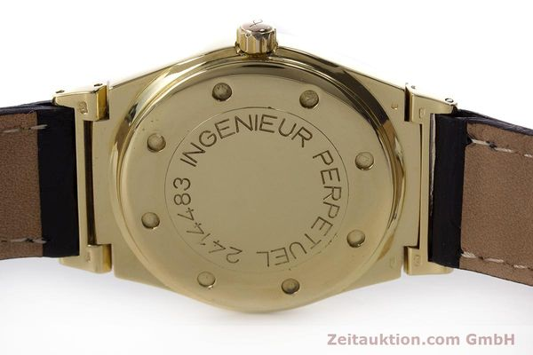 Used luxury watch IWC Ingenieur 18 ct gold automatic Kal. 3758 Ref. 3540 1  | 160862 08