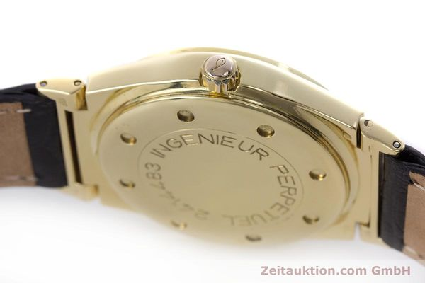 Used luxury watch IWC Ingenieur 18 ct gold automatic Kal. 3758 Ref. 3540 1  | 160862 11