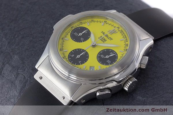 Used luxury watch Hublot MDM chronograph steel automatic Kal. MDM ETA 2892A2 Ref. 1810.1  | 160863 01