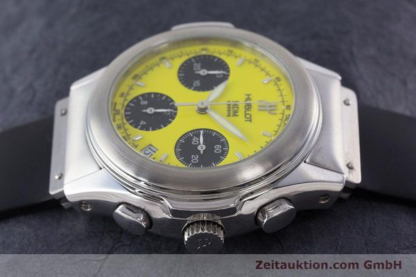 Used luxury watch Hublot MDM chronograph steel automatic Kal. MDM ETA 2892A2 Ref. 1810.1  | 160863 05