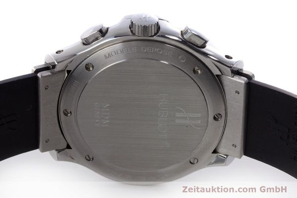 Used luxury watch Hublot MDM chronograph steel automatic Kal. MDM ETA 2892A2 Ref. 1810.1  | 160863 09