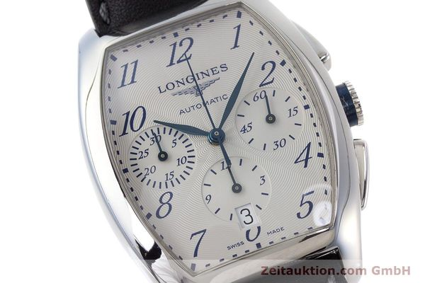 Used luxury watch Longines Evidenza chronograph steel automatic Kal. L650.2 ETA 2894-2 Ref. L2.643.4  | 160866 02