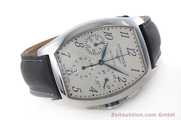 Used luxury watch Longines Evidenza chronograph steel automatic Kal. L650.2 ETA 2894-2 Ref. L2.643.4  | 160866 03