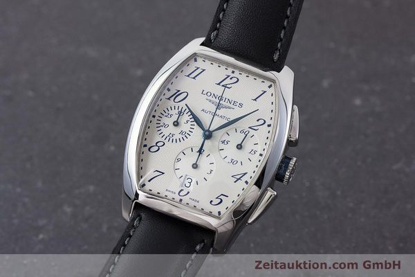 Used luxury watch Longines Evidenza chronograph steel automatic Kal. L650.2 ETA 2894-2 Ref. L2.643.4  | 160866 04