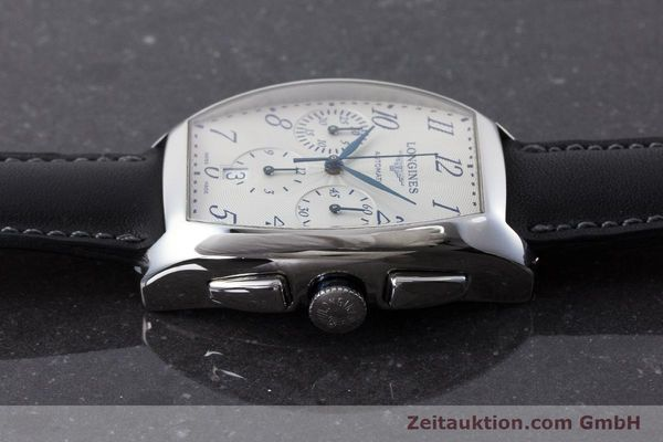 Used luxury watch Longines Evidenza chronograph steel automatic Kal. L650.2 ETA 2894-2 Ref. L2.643.4  | 160866 05