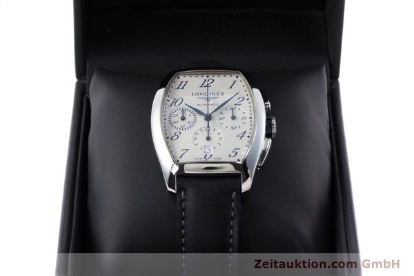 Used luxury watch Longines Evidenza chronograph steel automatic Kal. L650.2 ETA 2894-2 Ref. L2.643.4  | 160866 07