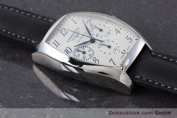 Used luxury watch Longines Evidenza chronograph steel automatic Kal. L650.2 ETA 2894-2 Ref. L2.643.4  | 160866 14