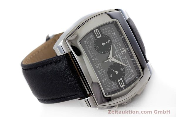 Used luxury watch Baume & Mercier Hampton chronograph steel automatic Kal. BM12 2894 ETA 2894-2 Ref. 65430  | 160867 03