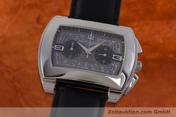 BAUME & MERCIER HAMPTON CITY CHRONOGRAPH HERRENUHR AUTOMATIK VP: 3900,- Euro [160867]