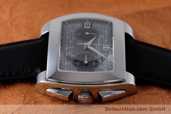 Used luxury watch Baume & Mercier Hampton chronograph steel automatic Kal. BM12 2894 ETA 2894-2 Ref. 65430  | 160867 05