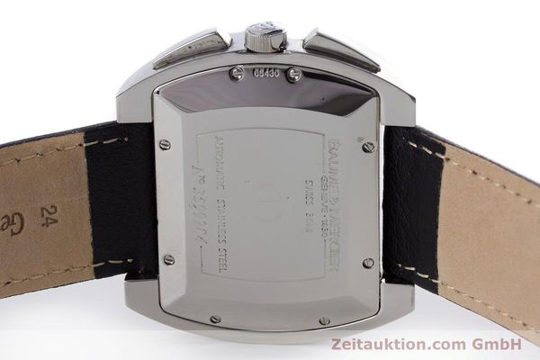 Used luxury watch Baume & Mercier Hampton chronograph steel automatic Kal. BM12 2894 ETA 2894-2 Ref. 65430  | 160867 09