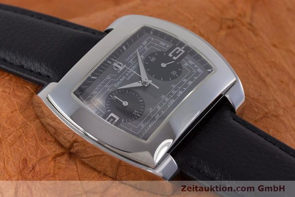 Used luxury watch Baume & Mercier Hampton chronograph steel automatic Kal. BM12 2894 ETA 2894-2 Ref. 65430  | 160867 13