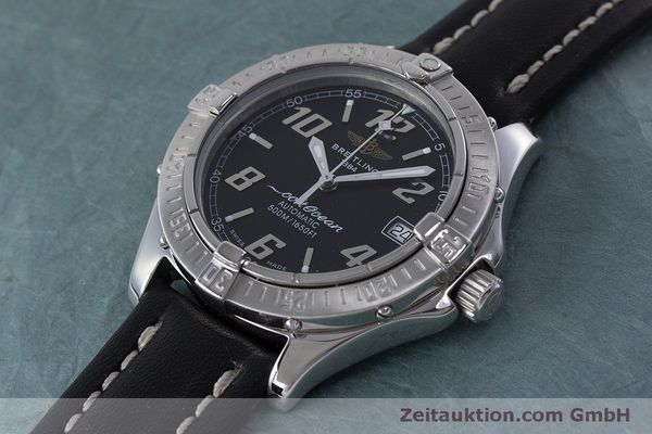 Used luxury watch Breitling Colt Oceane steel automatic Kal. B17 ETA 2824-2 Ref. A17050  | 160869 01