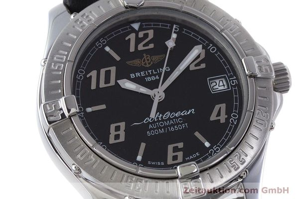 Used luxury watch Breitling Colt Oceane steel automatic Kal. B17 ETA 2824-2 Ref. A17050  | 160869 02