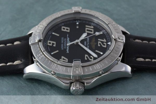 Used luxury watch Breitling Colt Oceane steel automatic Kal. B17 ETA 2824-2 Ref. A17050  | 160869 05