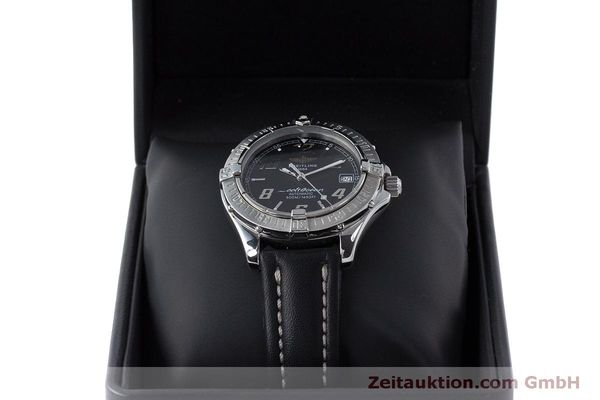 Used luxury watch Breitling Colt Oceane steel automatic Kal. B17 ETA 2824-2 Ref. A17050  | 160869 07