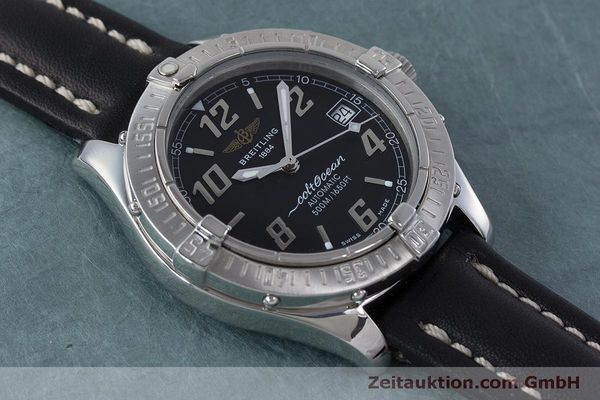 Used luxury watch Breitling Colt Oceane steel automatic Kal. B17 ETA 2824-2 Ref. A17050  | 160869 12