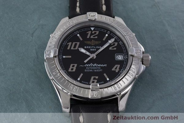 Used luxury watch Breitling Colt Oceane steel automatic Kal. B17 ETA 2824-2 Ref. A17050  | 160869 13