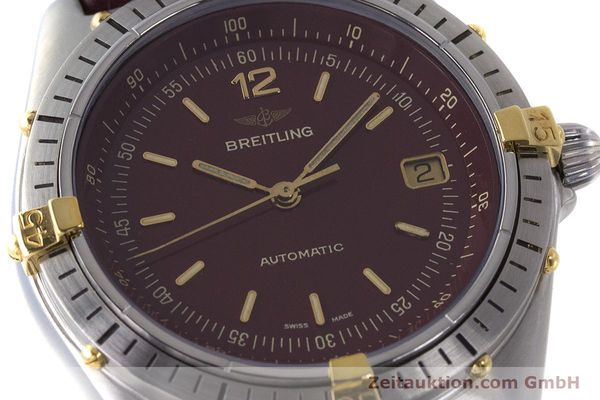 Used luxury watch Breitling Antares steel / gold automatic Kal. ETA 2892-2 Ref. 81970  | 160870 02