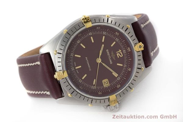 Used luxury watch Breitling Antares steel / gold automatic Kal. ETA 2892-2 Ref. 81970  | 160870 03