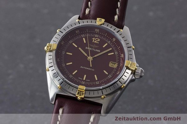 Used luxury watch Breitling Antares steel / gold automatic Kal. ETA 2892-2 Ref. 81970  | 160870 04