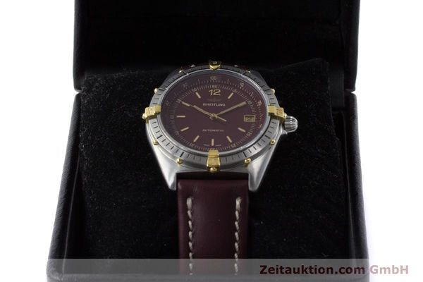 Used luxury watch Breitling Antares steel / gold automatic Kal. ETA 2892-2 Ref. 81970  | 160870 07