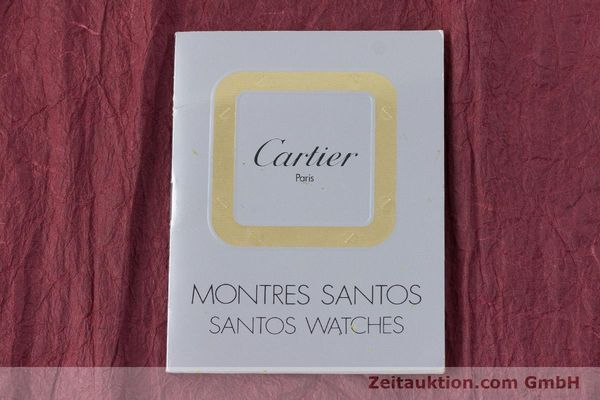 Used luxury watch Cartier Santos steel / gold automatic Kal. ETA 2671  | 160872 12