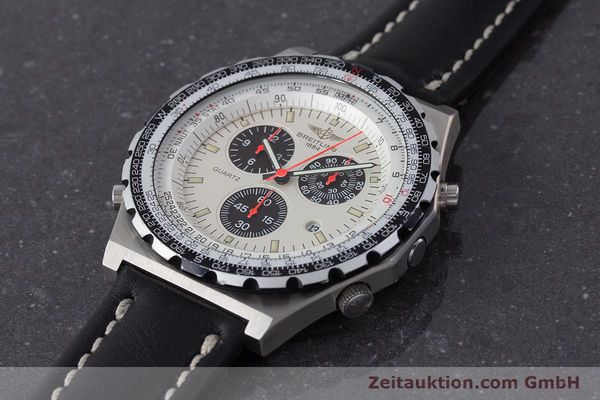 Used luxury watch Breitling Jupiterpilot chronograph steel quartz Ref. A59027  | 160874 01