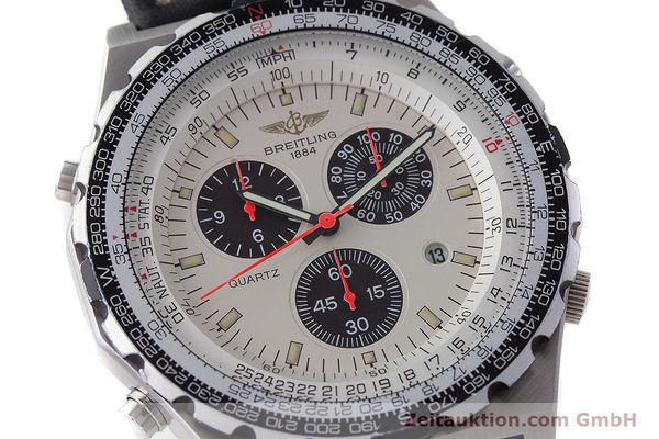 Used luxury watch Breitling Jupiterpilot chronograph steel quartz Ref. A59027  | 160874 02
