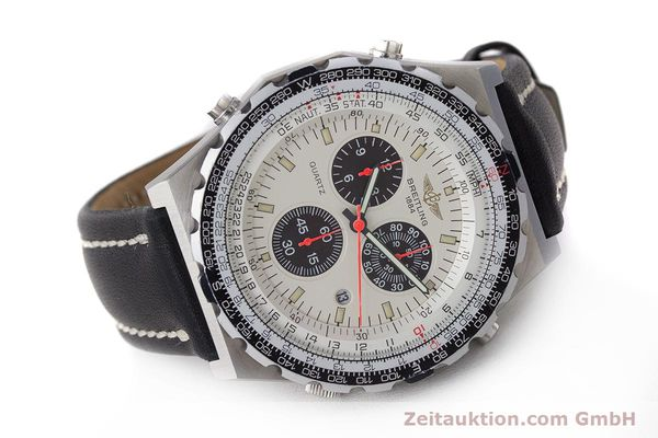 Used luxury watch Breitling Jupiterpilot chronograph steel quartz Ref. A59027  | 160874 03