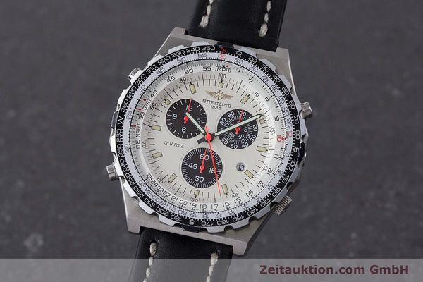 Used luxury watch Breitling Jupiterpilot chronograph steel quartz Ref. A59027  | 160874 04