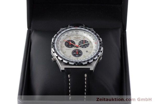 Used luxury watch Breitling Jupiterpilot chronograph steel quartz Ref. A59027  | 160874 07