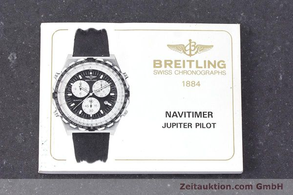 Used luxury watch Breitling Jupiterpilot chronograph steel quartz Ref. A59027  | 160874 12