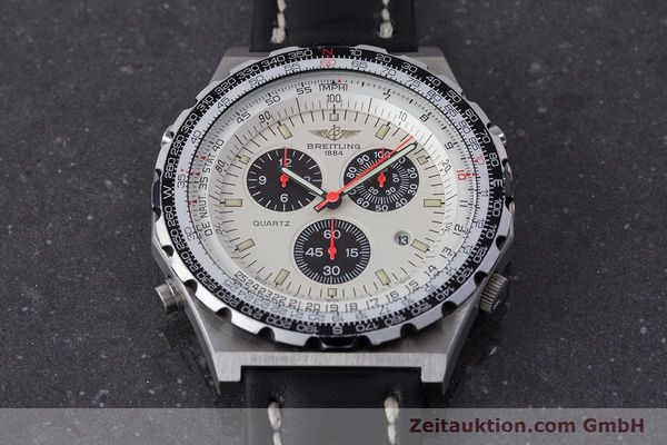 Used luxury watch Breitling Jupiterpilot chronograph steel quartz Ref. A59027  | 160874 16