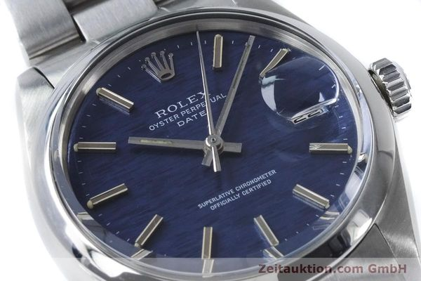 Used luxury watch Rolex Date steel automatic Kal. 1570 Ref. 1500 VINTAGE  | 160875 02
