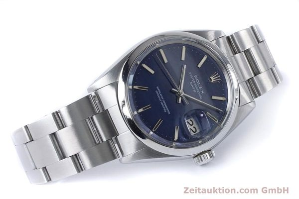 Used luxury watch Rolex Date steel automatic Kal. 1570 Ref. 1500 VINTAGE  | 160875 03