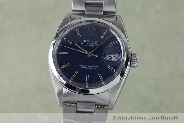 Used luxury watch Rolex Date steel automatic Kal. 1570 Ref. 1500 VINTAGE  | 160875 04