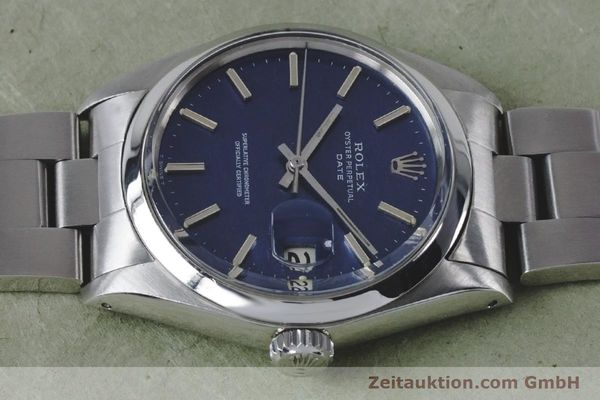 Used luxury watch Rolex Date steel automatic Kal. 1570 Ref. 1500 VINTAGE  | 160875 05