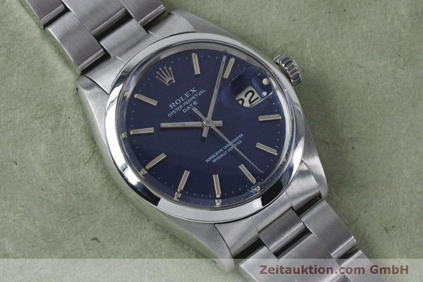 Used luxury watch Rolex Date steel automatic Kal. 1570 Ref. 1500 VINTAGE  | 160875 14