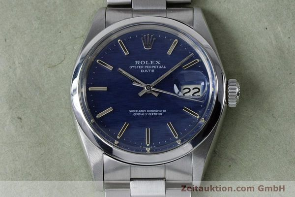 Used luxury watch Rolex Date steel automatic Kal. 1570 Ref. 1500 VINTAGE  | 160875 15