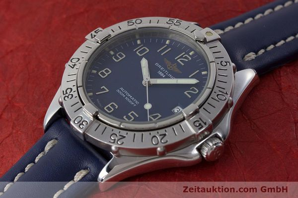 Used luxury watch Breitling Colt steel automatic Kal. B17 ETA 2824-2 Ref. A17035  | 160880 01